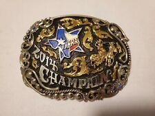 Maynard Texas Junior High School Rodeo Assoc. Champion Trophy Belt Buckle