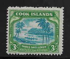 Cook Islands Scott #114, Single 1938 FVF MH