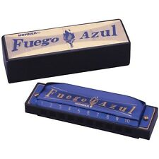 Hohner Diatonic Harmonica - 1510 Fuego Azul - Key of C