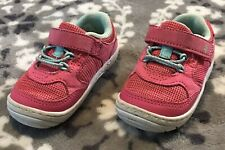 Stride Rite Surprize Baby Toddler Girls Shoes Sneakers Pink Sea Green Size 4