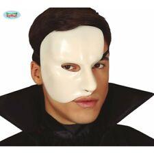 Mask Horror Pvc Phantom Maschera Bianca Fantasma dell'Opera Guirca Art.2277