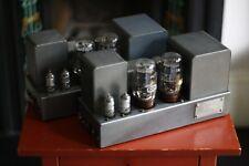 Quad II / Quad 22 Pre Amp / GEC KT66/ Mullard Valves / Mono Blocks Serviced
