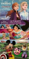 Disney Jumbo Ultimate Coloring and Activity Book - Set of THREE Princess Bundle