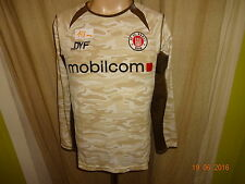"FC St.Pauli DoYou Football Langarm DFB- Pokal Trikot 2005/06 ""mobilcom"" Gr.S TOP"
