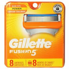 Gillette Fusion5 Razor Blade Refill Cartridges - 8 Count Pack 100%25 Authentic NEW