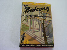 THE BALCONY  1942  DOROTHY CAMERON DISNEY  NERVE WRACKING TENSE BLOODY DRAMA