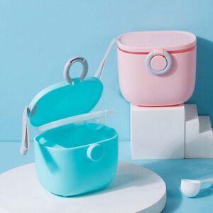 Single Color Baby Food Storage Box Cereal Cartoon Milk Powder Storage Boxl J