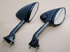 Black Rear View Mirrors For Kawasaki ZZR1400 ZX-14R 2006-2012 07 08 09 10 11 New