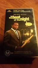 IN THE HEAT OF THE NIGHT- SIDNEY POITIER -   VHS VIDEO