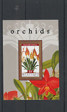 Mustique Granadinas St Vincent 2011 Mnh orquídeas Ii 1v S/s Flores Masdevallia