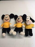 Vintage knickerbocker Mickey, Goofy Music Wind Up Players