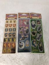 Lot Of Harry Potter Stickers All Night Media New In Packaging