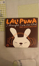 LALI PUNA - I THOUGHT I WAS OVER THAT RARE,REMIXED AND B SIDE  - DIGIPACK CD