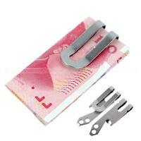 Mini Multifunction Tool Belt Money Key Chain Clip Bottle Opener Stainless Steel