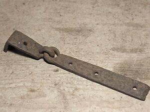 Single Antique Wrought Iron Hinge for Pine/Oak Blanket Box/Chest/Trunk~