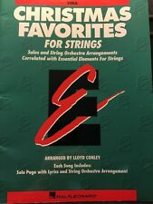 Christmas Favorites -VIOLA : Essential Elements for Strings (1997, Paperback)