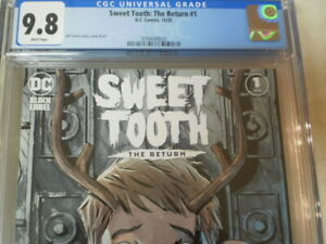 SWEET TOOTH THE RETURN 1 CGC 9.8 NETFLIX SERIES CURRECTLY SHOWING COVER (A)