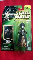 STAR WARS POWER OF THE JEDI QUEEN AMIDALA ROYAL DECOY ACTION FIGURE 2000 HASBRO