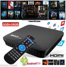 MECOOL M8S PRO Android 7.1 Smart TV Box Octa-Core Media Player 3GB+16GB USB HDMI