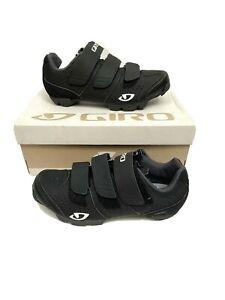 New Giro Women's Riela R MTB Mountain Bike Shoes EU 36 US 5  Black 2-Bolt SPD