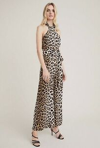 Witchery Animal Jumpsuit Ocelot [10] NWT RRP$170
