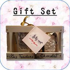 """""""trasporto Matrimonio"""" Cioccolato Fonduta + MINI MARSHMALLOW Gift Set OMAGGIO WC3"""