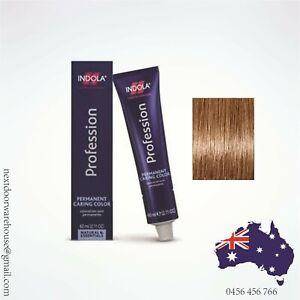Indola 8.30 Permanent Hair Colour Cream 60 mL Light Blonde Gold Natural