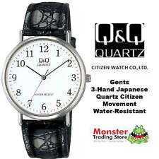 AUSSIE SELLER GENTS LEATHER BAND WATCH CITIZEN MADE V722J304 12-MONTH WARRANTY