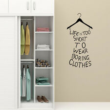 Wall Sticker Wardrobe Furniture Self Adhesive Vinyl Decal Murals Sign Making Art
