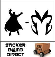 Magneto Decal Set Sticker Marvel Comics DC JDM X-Men Mutant Villain