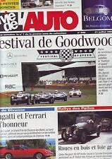 La vie de l´auto 946 -- bugatti ferrari - goodwood - rallye des poilus -