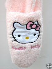 NEW Cute Cute Hello Kitty Pink Soft Plush Scarf & Gloves