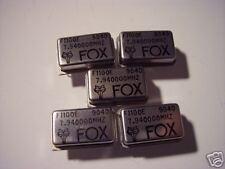 FOX 7.94 MHz crystal oscillator  5 pieces