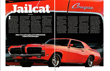 1970 MERCURY COUGAR ELIMINATOR 428/335 HP COBRA-JET ~ NICE 4-PAGE ARTICLE / AD
