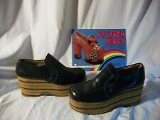 Vintage Men's Vintage Volpe Imperial Italy Mega Platform Shoes 7.5 Iconic VGC