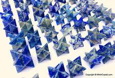 Lapis Lazuli Merkaba Star Crystal Healing Aura Cleansing Chakra Star
