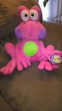 Kuddle Me stuffed 17 inch Pink Frog with tag