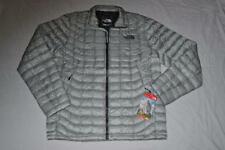 THE NORTH FACE MEN'S THERMOBALL FULL ZIP JACKET HIGH RISE GREY XLARGE BRAND NEW