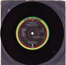 BOB MARLEY - BUFFALO SOLDIER Very rare 1983 Aussie REGGAE Single! Near MINT
