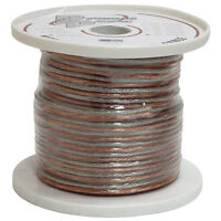 Spool of High Quality Speaker Zip Wire New Pyle PSC16250 16 Gauge 250 ft