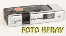 Agfamatic Tele Pocket 2008 analoge 110 Kamera defekt 03117
