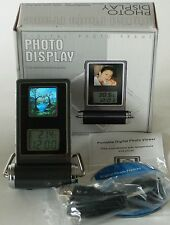 Mini Digital Photo Display Frame with Clock & Thermometer