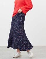 Joules Womens Coletta Bias Cut Skirt - Multi Spot