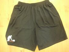 Racquetball Shorts (2XL) Dry Fit with 2 side pockets BLACK color 21""