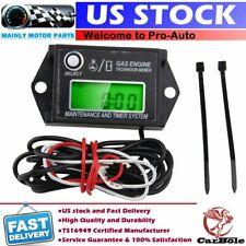 12V Digital RPM Tachometer For 2 Stroke or 4 Stroke Tach Meter w/ Max RPM Recall
