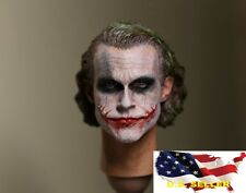 NEW 1/6 Custom Joker Head Sculpt 2.0 for hot toys DX11 DX01 Narrow Shoulder USA
