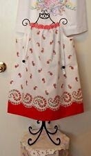 NEW Pillowcase Dress Handmade w/100%Cotton VTG Floral Pillowcase x size 3 to 4T