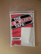 NEW AMF Bowlers Tape, 3/4in White, 30/Package, NIB