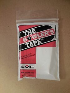 NEW AMF Bowlers Tape, 3/4in White, 30/Package, Lot of 2