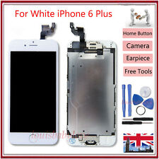 Screen LCD For iPhone 6 Plus Touch Digitizer Display Assembly Home Button White